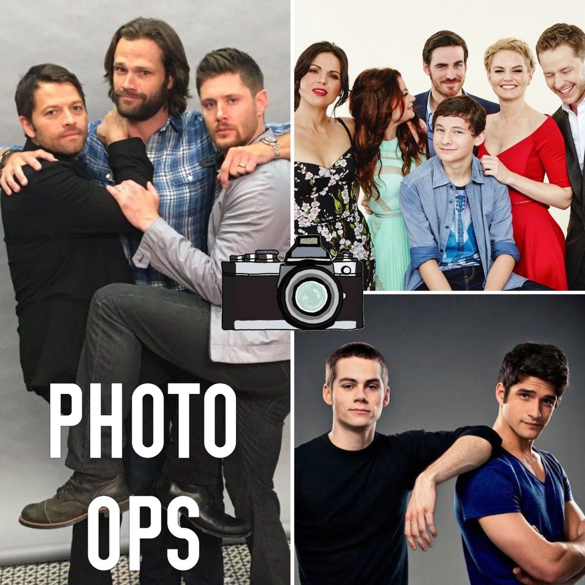 7 types de photo ops fréquents en convention